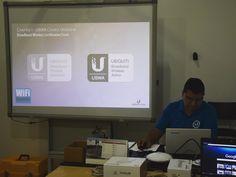 En un rato empezamos... #Certificación #Ubiquiti #UBWA #airMAX   #WiFiCanarias