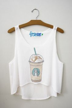 Carmel frappuccino Fresh-Tops Crop Top