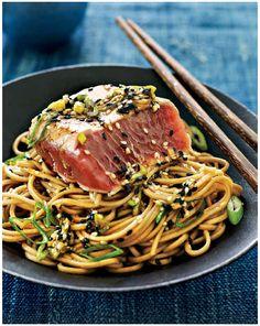 Pan-Seared Tuna Tataki -