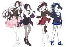 Anime Nerd, Chica Anime Manga, Kawaii Anime, Demon Slayer, Slayer Anime, Anime Angel, Anime Demon, Character Inspiration, Character Design