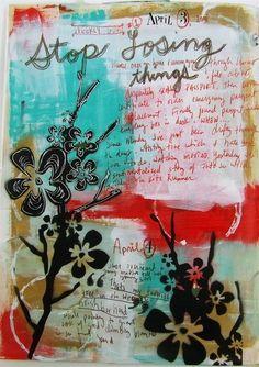 art journal by julia