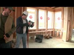 Nail gun target practice: Nail-splitter. Integrity Windows and Doors from Marvin are TOUGH and Built to Perform.