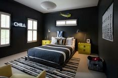 Cozy Small Bedrooms, Cool Bedrooms For Boys, Awesome Bedrooms, Boy Bedrooms, Small Rooms, Small Spaces, Boys Bedroom Paint, Boys Bedroom Decor, Bedroom Colors