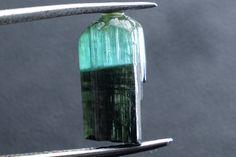 2.30Ct. Natural Facet Rough Dark green to Light blue Tourmaline Gemstone #TM031  | eBay