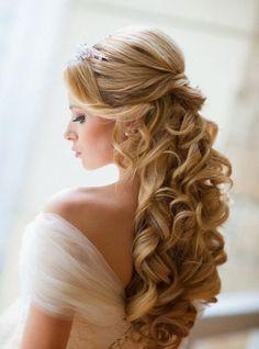 best long hair wedding hairstyles 2015 - Google Search