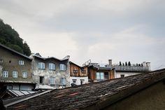 hallein. roofs. via http://fmaurer.net/vlinderblog/