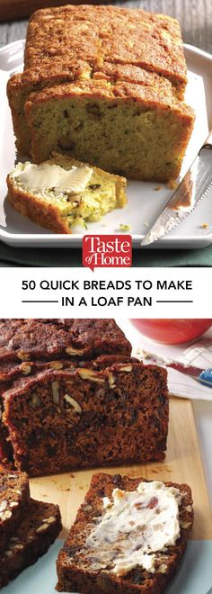 50 Quick Breads Anyone Can Make
