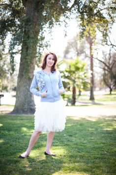 Beautiful fashion photography session at the Haggin Museum in Stockton, CA in the shade of a giant oak tree.   Photographer: David Sowers/DASO Photo   Model: Elisha Yandris   Clothing: Evy's Tree