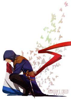 Assassin's Creed Unity Art