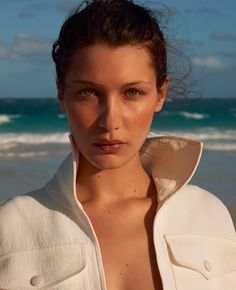 EDITORIAL+COVER: Bella Hadid in Porter Magazine #20 Summer 2017 by Terry Richardson — Photography: Terry Richardson, Model: Bella Hadid, Styling: George Cortina, Hair: Didier Malige, Make-Up: Dick Page, Props: Bette Adams, Location: The Bahamas,