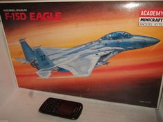 New Academy 1686 Mcdonnell Douglas F-15D Eagle Model Kit in Larger 1:48 Scale.