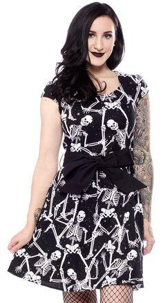 FOLTER BONES OF BETRAYAL DRESS $70.00 #folter #dress #halloween #skeleton