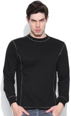 Dream Of Glory Inc. Solid Men's Round Neck T-Shirt - Buy Black Dream Of Glory Inc. Solid Men's Round Neck T-Shirt Online at Best Prices in India | Flipkart.com