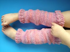 girls legwarmers pattern