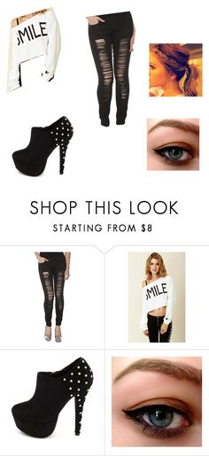 """June Campus"" by ada-polese ❤ liked on Polyvore featuring Rebel Yell and Charlotte Russe"