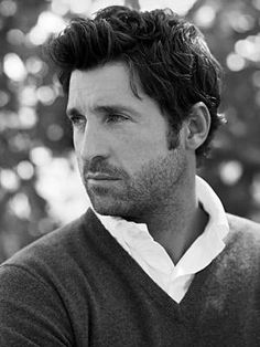 Patrick Dempsey... he's a professional race car driver don't-cha-know?!