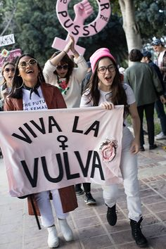 Today We Marched! Viva La Vulva Women's March Downtown Los Angeles