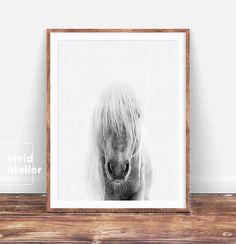 Horse Printable Art Horse Photography Print Nursery Wall