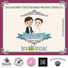 '👰FOTO NÃO OFICIAL 👰 . Neste mês das noivas preparamos um super sorteio pra vocês noivinhas do Rio de janeiro!! 😍 . Vamos sortear: . Layout de convite de casamento . Clipe: Pré-wedding . 100 bem casados de doce de leite . Cerimonial antes e o serviço de decoração do dia . 🚩 REGRAS: . 1⃣ Curtir a foto oficial no ig @dfdesigneventos . 2⃣ Seguir os perfis: . @dfdesigneventos @estilo_noivas @24dros @studio_m_design7 @stdoceria_gourmet . 3⃣ Marcar 3 pessoas na foto oficial no ig…