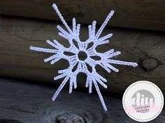 Crochet Snowflake Pattern, Crochet Stars, Christmas Crochet Patterns, Crochet Snowflakes, Christmas Snowflakes, Christmas Cross, Crochet Motif, Crochet Doilies, All Things Christmas