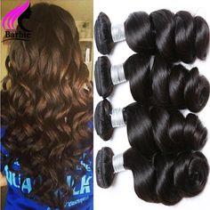 Cheap Brazilian Virgin Hair Loose Wave Human Hair Weave 3 Bundles Brazilian Hair Weave Bundles Brazilian Loose Wave Virgin Hair