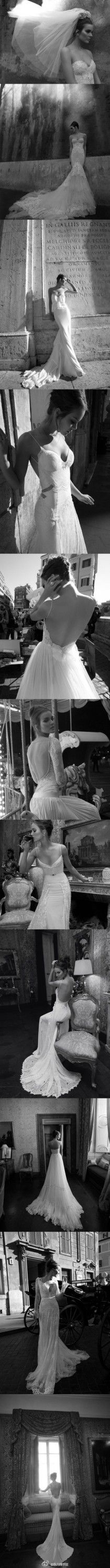 Dream Wedding Dresses ♥ Elegant Wedding Dresses ♥ Inbal Dror Haute Couture Collection | Ozel Tasarim Gelinlik Modelleri