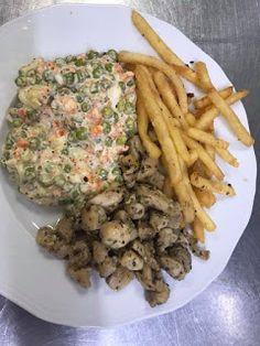 Eszter mentes konyhája: Hamis franciasaláta Meat, Chicken, Food, Essen, Meals, Yemek, Eten, Cubs