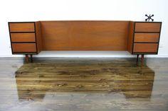 MID Century Bedside Tables Drawers QB Bedhead Retro Vintage Danish Parker ERA, VIC | eBay 360 Modern Furniture