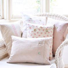 Peony & Sage cushions