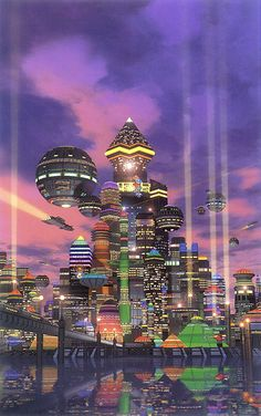 Dystopian city - David Mattingly