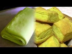 Homemade Puff Pastry - Pate Feuilletee - Khari Biscuit Recpe by Bhavna