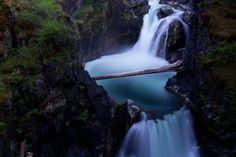Lower Qualicum River Falls