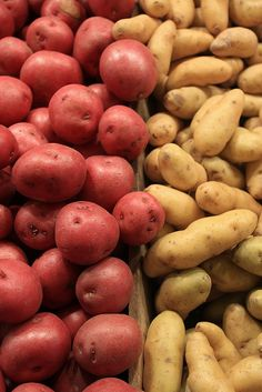 potatoes, Rebecca's favorite