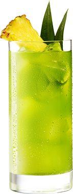 Cactus Juice is an easy to make cocktail using MIDORI. Malibu Rum Drinks, Bar Drinks, Easy To Make Cocktails, Alcohol Drink Recipes, Cactus Juice Recipe, Cocktail Recipes, Cocktail Drinks, Cocktail Making, Midori Cocktails