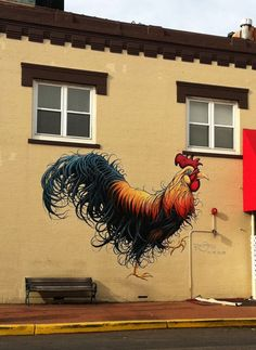 ...i love this rooster...so vibrant.
