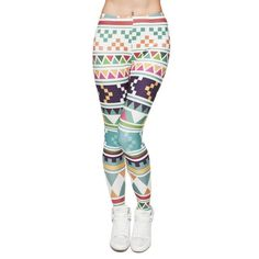 070e6583ff435 ZSIIBO New Fashion Aztec Printing legins Punk Women s Legging Stretchy  Trousers Casual Slim fit Pants Leggings. Aztec Print LeggingsGalaxy ...