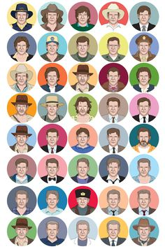 Forty Fords - Interactive graphic on Movies of Harrison Ford - Great image by the National Post...Interactive with ThingLink.