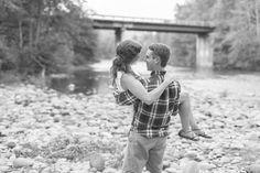 Honey Run Covered Bridge, creek engagement by Chico Wedding Photographer TréCreative trecreative.com/