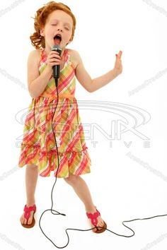 Photo about Adorable elementary age school girl singing into microphone isolated over white background. Image of activity, face, cheerful - 24583551 Little Girl Singing, Kids Singing, Singing Microphone, Voice Therapy, Success Mantra, Teaching Style, Praise Songs, Girls Dress Up, Music Magazines