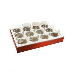 Glass Candle Holder Countertop Display - Home Decor