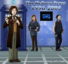 The Eighth Doctor and his Companions - Grace & Chang!