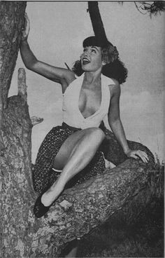 ~✿✿✿~Bettie Page~✿✿✿~ My style is greatly influenced by the vintage beauties of the past..
