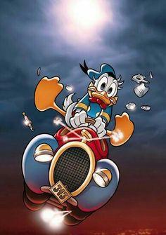 Walt Disney, Donald Disney, Disney Duck, Disney Love, Disney Magic, Disney Mickey, Disney Art, Mickey Mouse Art, Mickey Mouse And Friends