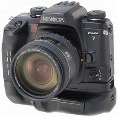 My great Minolta Maxxum 7 SLR film camera