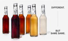 独飲料ブランドからトランプ大統領へのメッセージ「ボトルの色が違っても中身は同じ」 | AdGang