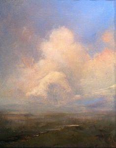 Archangel II oil on canvas  8x10