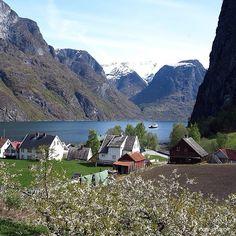Undredal lies in the Norwegian fjordlandscape around Nærøyfjorden. This is on UNESCOs list of World heritage sites #Padgram