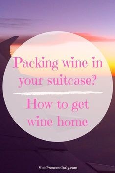 Flying with wine? Tips on how to get your wine home from shipping companies to totes to protective sleeves to special wine luggage. Prosecco Quotes, Wine Club Monthly, Wine Leaves, Wine Dispenser, Wine Tote Bag, Wine Carafe, Organic Wine, Beer Festival, Shipping Wine
