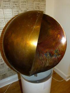 Современная абстрактная скульптура, 4D сфера в бронзе Samvado изображение 5