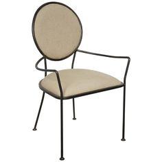 Noir Sona Chair w/Metal GCHA234MT